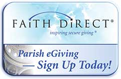 Sign up for eGiving